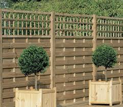 Image of: Trellis Fence Panels Picture