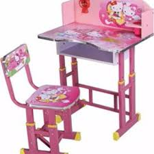 hello kitty study table for kids home furniture carou childrens plastic and chairs chair students desk children room set thanksgiving play wooden