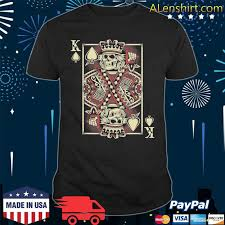 There's something for any sports fan King Of Spades Skull Gift Men Poker Card Game Grunge Shirt Hoodie Sweater Long Sleeve And Tank Top