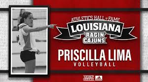 Priscilla Lima - Louisiana Athletics Hall of Fame Class of 2019 - Louisiana  Athletics