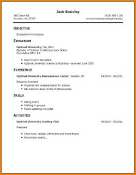 Resume With No Work Experience 100 How To Make A Cv For Students With No Experience Points Of 60