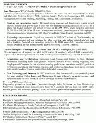 Sample General Manager Resume General Manager Resume Templates Free Best Resume Examples
