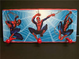 Superhero Coat Rack 100 SPIDERMAN WALL PLAQUE COAT HANGER eBay 40