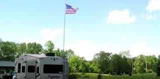 rv flag pole