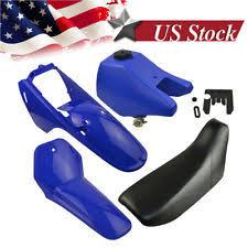 yamaha pw80. yamaha pw80 pw 80 tank seat plastic kit blue pw80