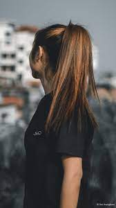 Girl Brown Hair Highlight Photography ...