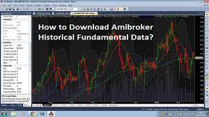 Yahoo Finance Nifty Technical Chart Download Amibroker Historical Fundamental Data Stockmaniacs