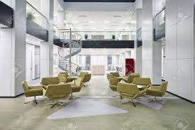 Image Entrance Modern Office Lobby Hall Interior Stock Photo 34818059 123rfcom Modern Office Lobby Hall Interior Stock Photo Picture And Royalty