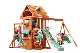 Big Backyard Swing Set Dealers  Home Outdoor DecorationBig Backyard Ashberry Wood Swing Set