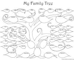 Drawing A Family Tree Template Free Drawing Of A Family Tree Gulflifa Co
