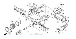 similiar honda recon rear axle diagram keywords honda rancher 350 wiring diagram on honda recon 250 rear end