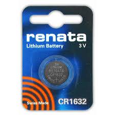 Купить <b>Батарейка</b> CR1632 3В <b>литиевая Renata</b> 137mAh, цена ...