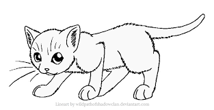 Small Picture Printable 34 Warrior Cat Coloring Pages 4797 Warrior Cats