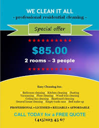 Ad Templates House Cleaning Ad Templates 14 Free Cleaning Flyer Templates House