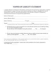 Liability Waiver Template Liability Forms Template Liability Waiver Stunning Liability Waiver Template Word