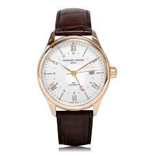 mens classic watches the watch gallery® frederique constant classic index automatic rose gold plated mens watch fc 350v5b4