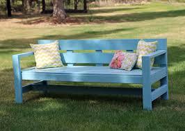 garden bench diy plans. ana white build a modern park bench free and easy diy project plans garden b