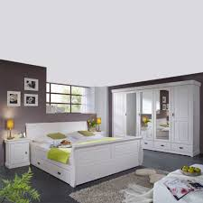 Massivholz Schlafzimmer Pigaro In Weiß Pharao24de
