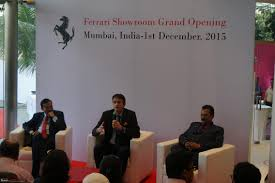 ferrari inaugurates mumbai dealership with navnit motors 5 jpg