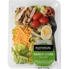 Walmart Deli Nutrition Chart Marketside Ranch Cobb Salad 15 Oz