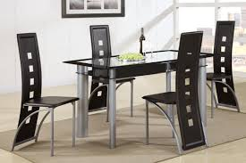 Modern Glass Kitchen Tables Dining Room Terrific Modern Glass Dining Room Sets Phenomenal
