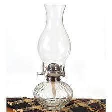 ellipse clear oil lamp