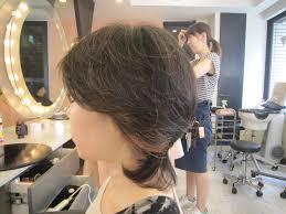 40代 ミディアムレイヤー 40代50代60代髪型表参道美容室青山美容院