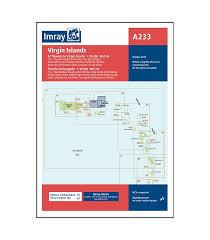 Imray Charts Caribbean Imray Chart A233 Virgin Islands A231 And A232 2019 Edition