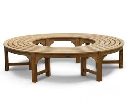 tree seats garden furniture. Saturn Teak Circular Tree Seat - Backless Wrap Around Bench 190cm #benches # Seats Garden Furniture