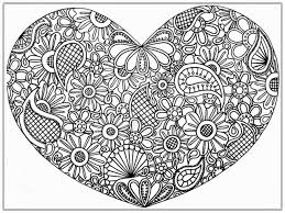 Small Picture Abstract Hearts Coloring Pages For Adults In Heart Coloring Pages