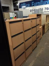 small office cabinets. Used Metal Tambour Cupboards · Wooden Four Drawer Filing Cabinets In Beech Small Office U