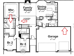 fascinating 3 garage house plans 22 lovely ranch car 1 with image