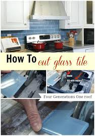 how to cut glass tile how to cut glass tile using a wet saw four generations
