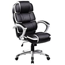 luxury office chair. oypla luxury designer computer office chair black with white accents a