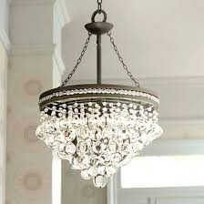 drum shade chandelier unique with crystals light designs drake modern roman large version uk