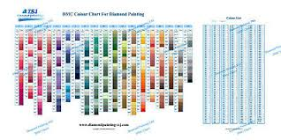 Dmc Color Chart For Diamond Painting The Complete Table 2019