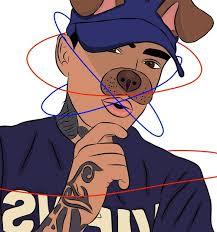 art boy and cartoon image