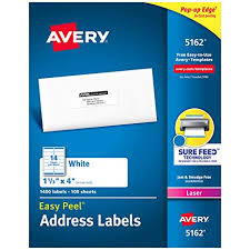 Avery Template 5162 Word