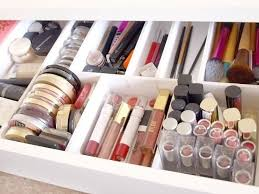 DIY Makeup Drawer Dividers