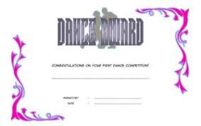 Dance Award Certificate Download 8 Dance Award Certificate Templates Various Designs