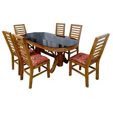 Oval Dining Table Chairs 5x3 Fkada
