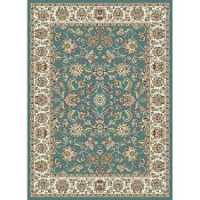 tayse international trading aqua blue ivory red 839 x 10 red and black area rugs 8x10