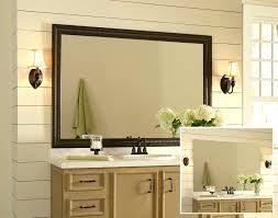wooden framed bathroom mirror wood framed bathroom mirrors cherry mirror iron frame with framed bathroom mirrors