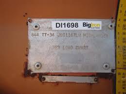 1984 Lull 844 Tt 34 4x4x4 Highlander Telehandler Bigiron