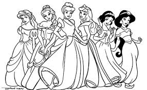 Small Picture Free Princess Coloring Pages Coloring Pages Kids
