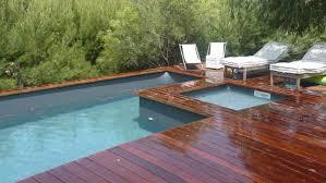 Piscine Bois Hors Sol Bluewood Avec Jacuzzi Construction De