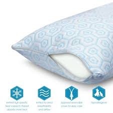 cooling body pillow. Simple Body Cooling Gel Fiber Body Pillow In O
