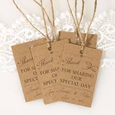 thank you tags for wedding favors vintage themed wedding favor tags thank you cards ewfr025 as low as
