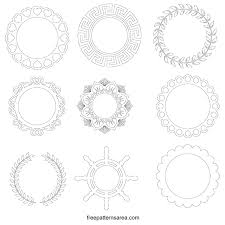 Some use svg animation, others use css transform for basic animation, and the rest. Monogram Frames Free Svg Cutting File For Cricut Freepatternsarea