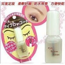 daiso eyebrow coat